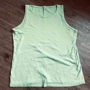 Coldwater Creek Mint Green Tank Top in size 1X